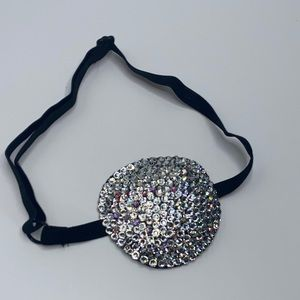 Luxury Medical Cover Up Crystal & AB Eye Patch